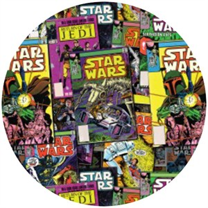 Camelot Cottons, Star Wars III, Comic Collection Multi