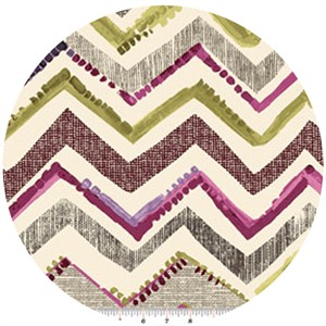 Contempo, Cachet, Zig Zag Pink/Taupe