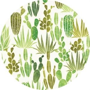 Hailey Hoffman for Hoffman Fabrics, Desert Dawn, Cacti Field Caterpillar