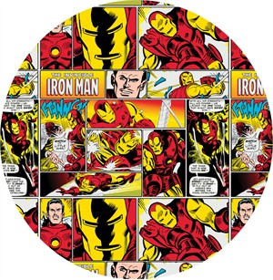 Camelot Fabrics, Marvel Comics, Iron Man Multi