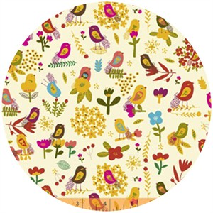 Carolyn Gavin, Petite Fleur, Petite Birds Multi