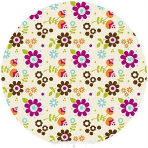 Carly Griffith, Little Matryoshka, Floral Cream