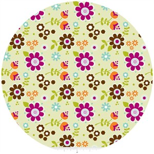 Carly Griffith, Little Matryoshka, Floral Green