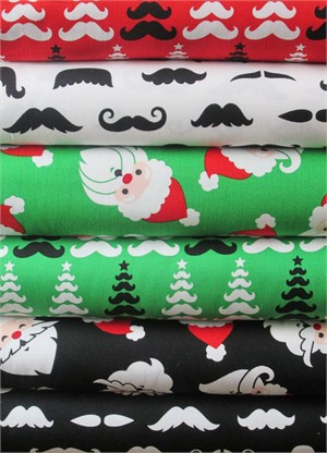Caleb Gray, Merry Mustaches in FAT QUARTERS 6 Total