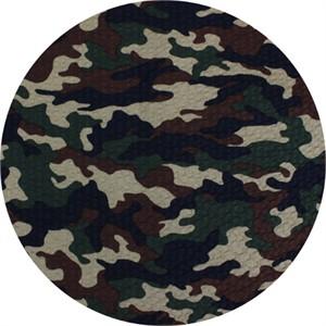 Cosmo Textiles, SEERSUCKER, Camo Brown