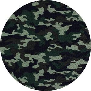 Cosmo Textiles, SEERSUCKER, Camo Green