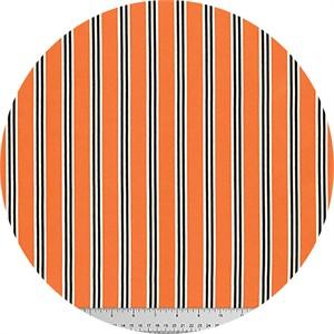 Verna Mosquera for Free Spirit, Candelabra, Candy Stripe Orange