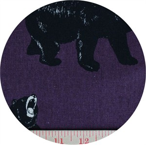 Cosmo Textiles, CANVAS, Unbearable Weather Purple