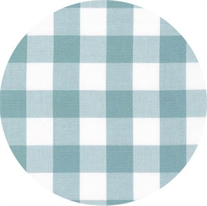 "Robert Kaufman, Carolina Gingham 1"", Fog"