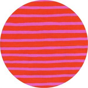 Rifle Paper Co. for Cotton and Steel, Wonderland, Cheshire Stripe Orange