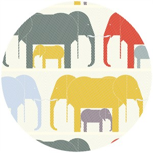 Charley Harper for Birch Fabrics Organic, Nurture, Jumbrella