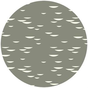Charley Harper for Birch Fabrics Organic, Nurture, Fungi Shroom