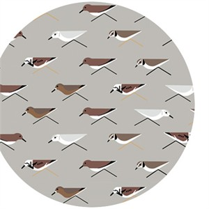 Charley Harper for Birch Organic Fabrics, Maritime, Sanderlings
