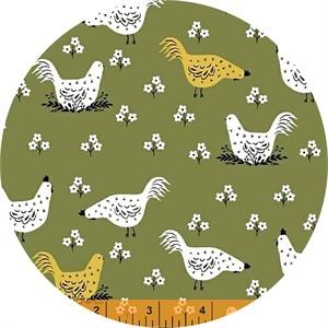 Dinara Mirtalipova for Windham, Gardening, Chickens Olive