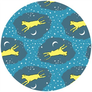 Cloud 9 Organic Fabrics, Goodnight Moon, Cow Jumped Over the Moon Night