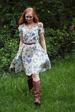 Sew Liberated, Sewing Pattern, Clara Dress