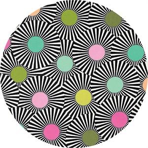 Tula Pink for Free Spirit, Slow & Steady, Clear Skies Strawberry Kiwi