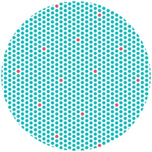 Claudine Hellmuth for Andover, KITSCHenette, Sprinkle Dots Aqua