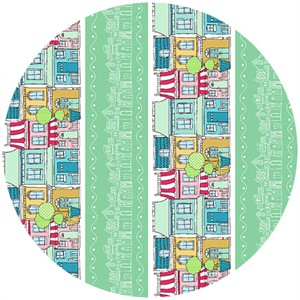 Claudine Hellmuth for Andover, The Neighborhood, The Block Mint