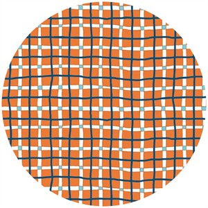 Clothworks, A Hole in One, Golfer's Plaid Orange