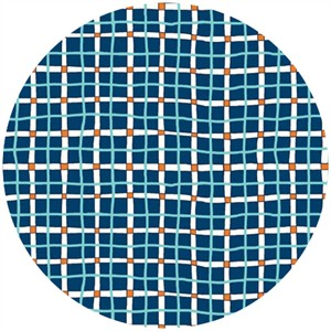 Clothworks, A Hole in One, Golfer's Plaid Teal