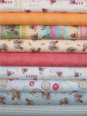 Clothworks, Hullabaloo in FAT QUARTERS 9 Total