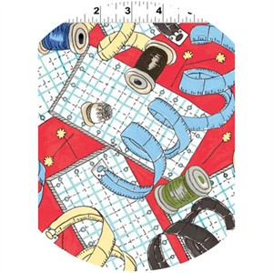 Clothworks, Sew Fun!, Prep Red
