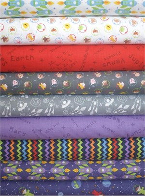 Clothworks, Space Age, Neptune in FAT QUARTERS 9 Total