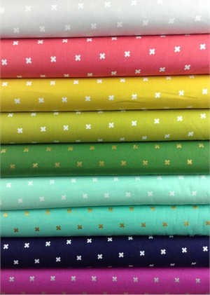 Cotton and Steel, Basics, XOXO Sampler in FAT QUARTERS 8 Total