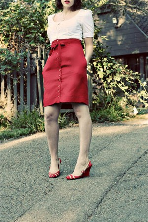 Colette Sewing Patterns,  Beignet Skirt Pattern