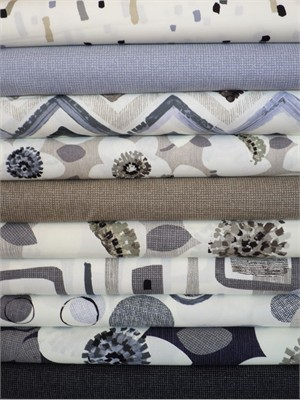 Contempo, Cachet, Gray in FAT QUARTERS 10 Total