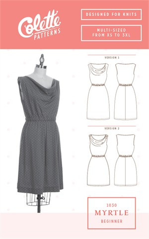 Colette, Sewing Pattern, Myrtle