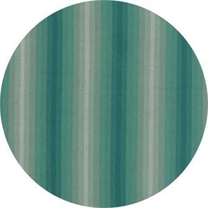 Moda, Color Daze LINEN, Ombre Stripe Turquoise