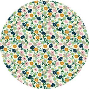 Elizabeth Grubaugh for Blend, Garden Roost, Confetti Flower Ivory