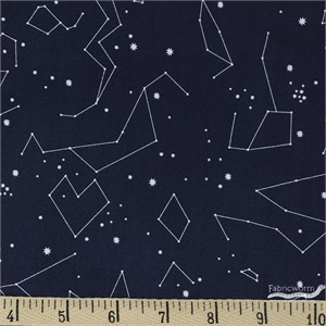 Rae Ritchie for Dear Stella, Moon Garden, Constellations Navy