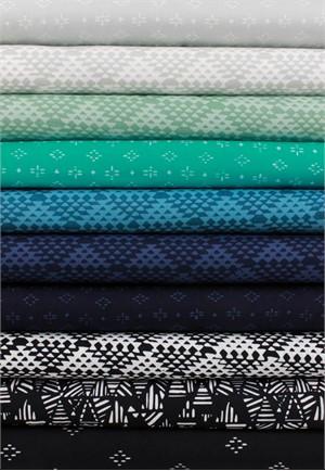 Hoffman Fabrics, Indah BATIKS, Cool Caribbean 10 Total