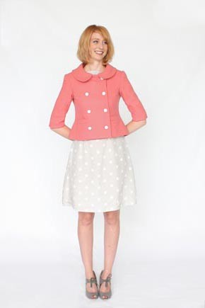 Colette Sewing Patterns, Anise Jacket Pattern