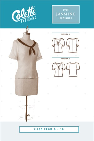 Colette Sewing Patterns, Jasmine