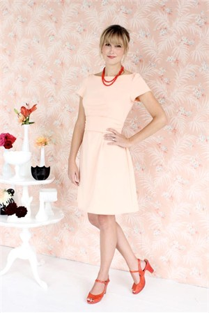 Colette Sewing Patterns, Peony Dress