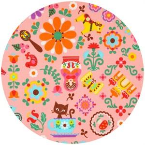Cosmo Textiles, Scandinavian Mix Pink