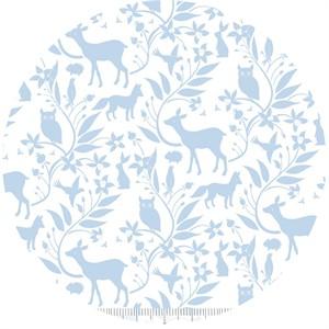 Ana Davis for Blend, Born Wild, Woodland Creatures Blue