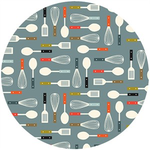 Makower UK, Lila's Kitchen, Utensils Gray