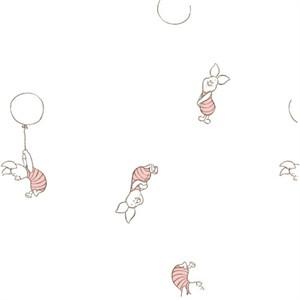 Camelot Fabrics, Disney Bambino, GAUZE, Piglet