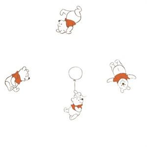 Camelot Fabrics, Disney Bambino, GAUZE, Pooh Bear