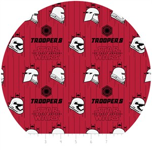 Camelot Fabrics, Star Wars: The Force Awakens, Stormtroopers Ruby