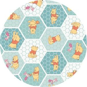 Camelot Fabrics, Winnie the Pooh, Tea Time Rainwater