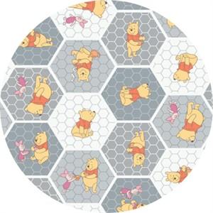 Camelot Fabrics, Winnie the Pooh, Tea Time Stone