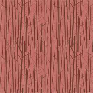 Charley Harper for Birch Organic Fabrics, Western Birds, Perch Rose