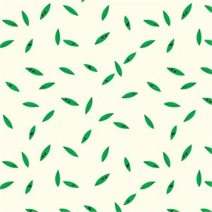 AVAILABLE FOR PREORDER, Charley Harper for Birch Organic Fabrics, Western Birds, KNIT, Green Leaves