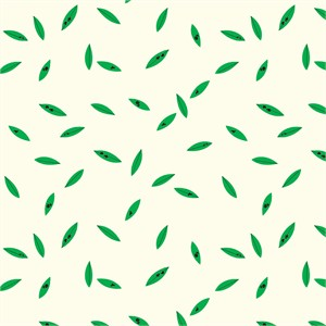 AVAILABLE FOR PREORDER, Charley Harper for Birch Organic Fabrics, Western Birds, DOUBLE GAUZE, Green Leaves